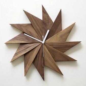壁掛け時計 壁掛時計 掛け時計 掛時計 おしゃれ 木製 無垢材 木 ウッド ウォールクロック ウォールナット デザイン かわいい モダン シンプル ナチュラル アンティーク レトロ クラシック 北欧 和 和風 インテリア ウッドウォールクロック ウィンドウ