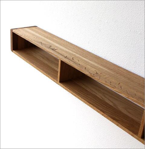 hakusan | Rakuten Global Market: Wall shelves wood wall shelf ...