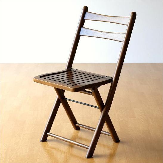 オーク無垢材 折りたたみ椅子 天然木製 フォールディングチェア 背もたれ 折りたたみ椅子 アンティーク風 ウッドチェア 折りたたみ椅子 木製 補助椅子 アンティーク風 キッチン ダイニング 木製折りたたみ椅子 完成品 送料無料 オークフォールディングチェアー