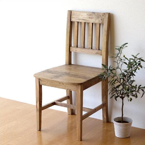 ダイニングチェア シャビー レトロ アンティーク おしゃれ ブロカント 椅子 デスクチェア ナチュラル カントリー ヴィンテージ風 木 木製 完成品 シャビーシックなウッドチェアー