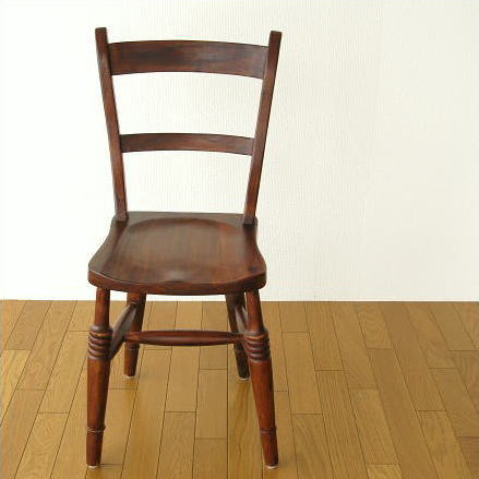 ダイニングチェア デスクチェア 木製 天然木 無垢材 椅子 一人掛け 一人用 アンティーク シンプル おしゃれ 手作り イス いす 木目 ブラウン レトロ アジアン ナチュラル インテリア シーシャムウッドチェアー