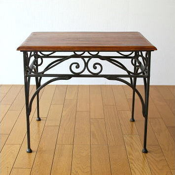 Nesting Table L Of Sofa Compact Iron And Sea Siam Made