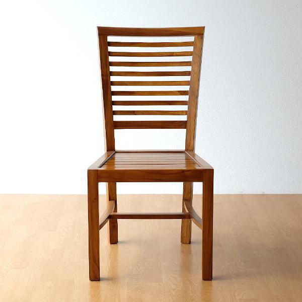チーク無垢材 チェアー 木製 総無垢材 ダイニングチェア デスクチェア 天然木 木製椅子 アジアン家具 ダイニングチェア 無垢椅子 ダイニングチェア 木製チェアー デスクチェア ダイニング椅子 机椅子 ダイニングチェアー 完成品 送料無料 チークチェアー