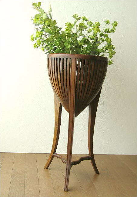 Teak Solid Wood Flower Stand Wooden Fashionable Pot Cover