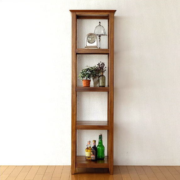 Corner rack wood natural wood display rack decorative shelf living room  dining corner shelf open lack Asian furniture Bali furniture shelf storage  ...