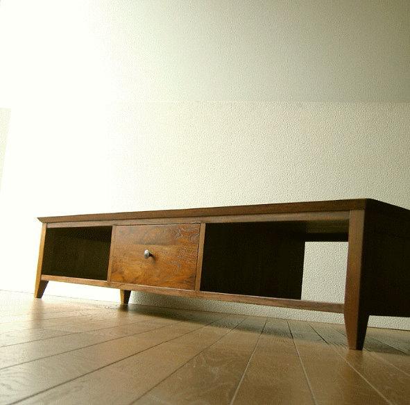 Hakusan Low Tv Stand Snack Av Rack Av Storage Wood Tv Stand Tv