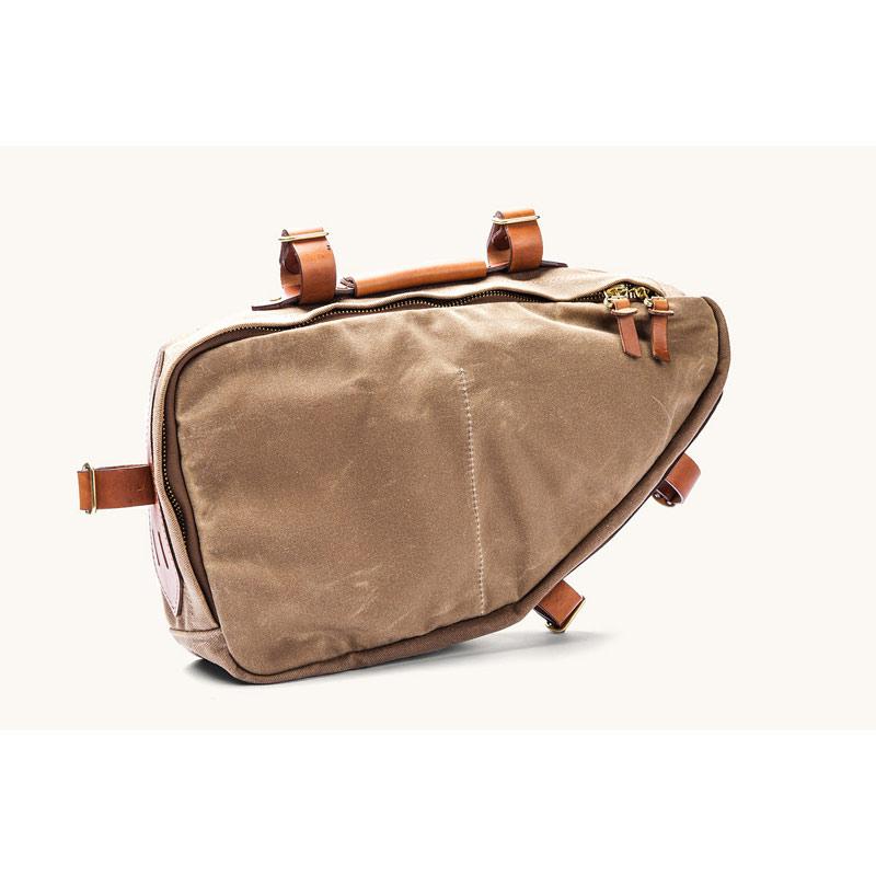 【ポイント最大18倍(8/27 15時より)】Excursion Frame Bag (エクスカーションフレームバッグ)カラー:FIELD TANTanner Goods(タナーグッズ)フレームバッグ