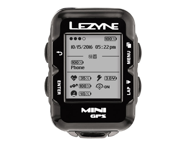 【P最大18倍(10/30 0時まで/エントリ含)】MINI GPS(ミニGPS)【Bluetooth smart対応コンパクトGPS内蔵サイクルコンピューター】LEZYNE(レザイン)スピードメーター・サイクルコンピュータ