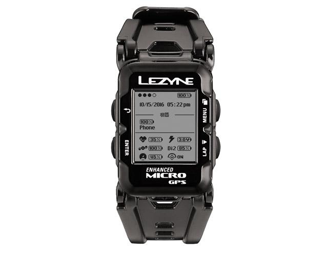 【ポイント最大17倍(7/14 0時まで)】MICRO GPS WATCH(マイクロGPSウォッチ)【マルチアスリートに向けたウェアラブルデバイス】LEZYNE(レザイン)スピードメーター・サイクルコンピュータ