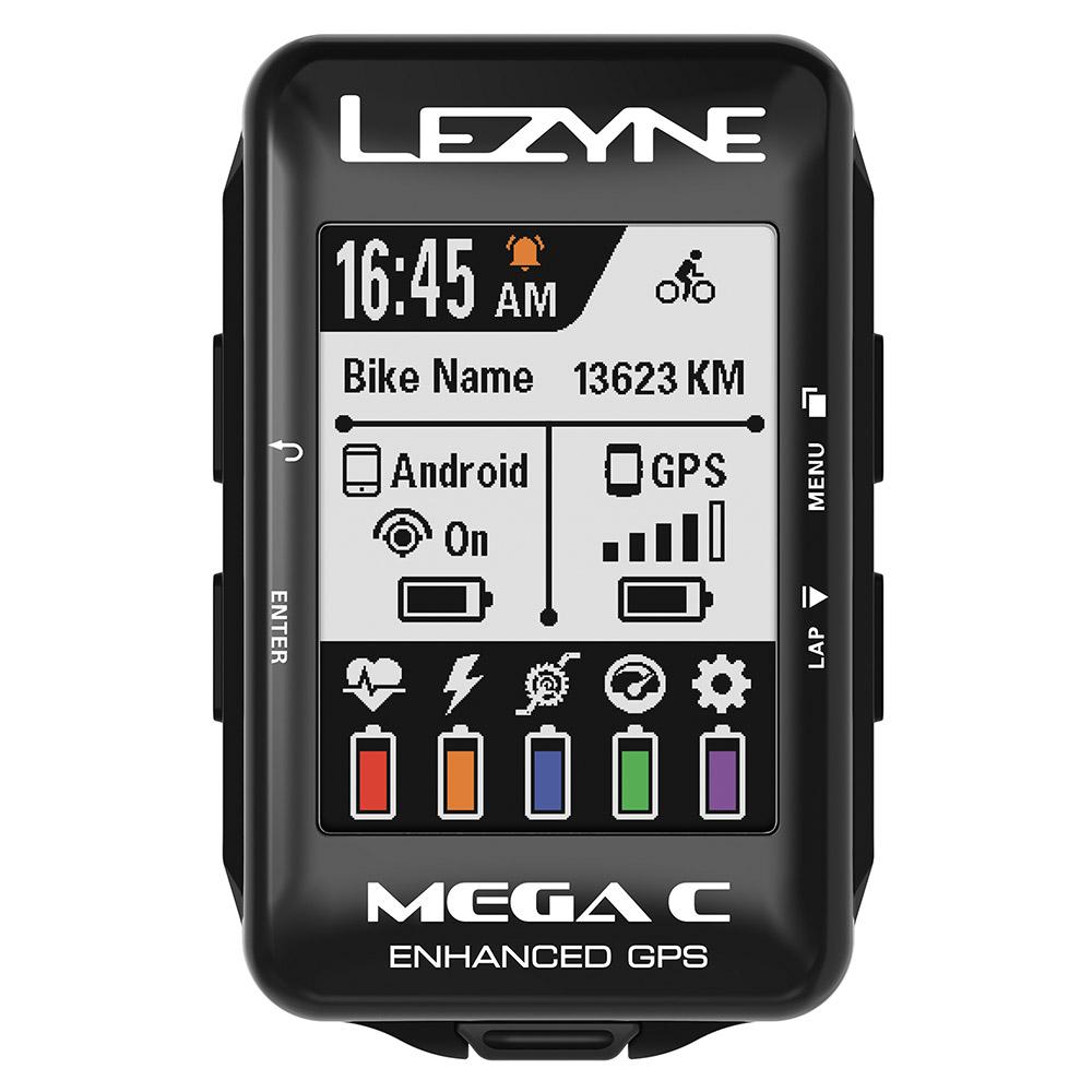 【P最大16倍(4/9 0時まで)】【期間限定大価格!】MEGA COLOR GPS(メガカラー GPS)【高彩度カラー液晶採用GPS内蔵サイクルコンピューター】LEZYNE(レザイン)スピードメーター・サイクルコンピュータ