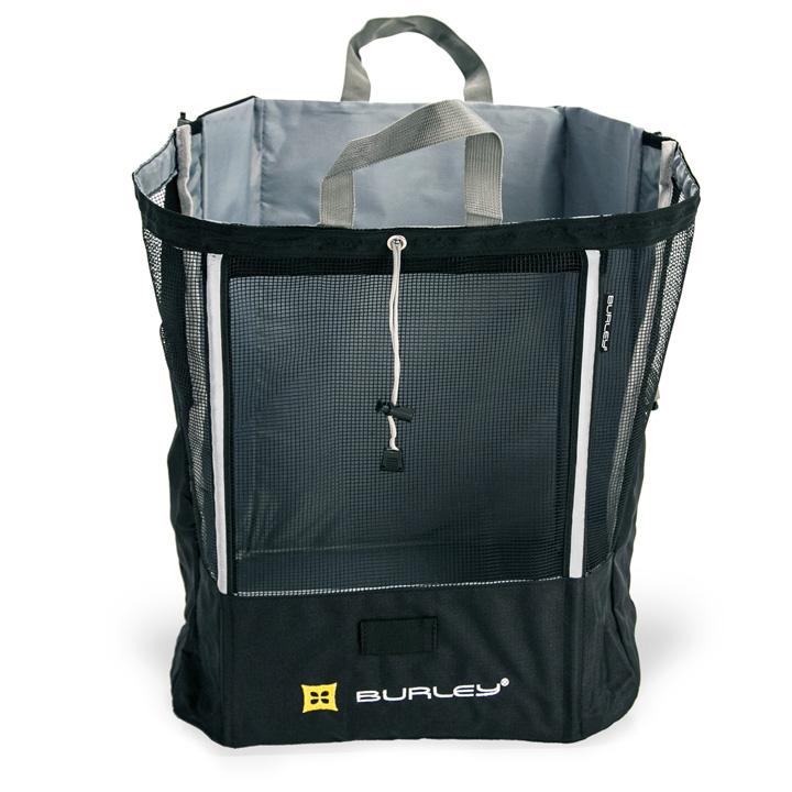 【最大4000円クーポン+P最大24倍(4/16 2時まで)】【TRAVOY用】MESH bag Large(メッシュバッグ)BURLEY(バーレイ)自転車用荷物トレーラー