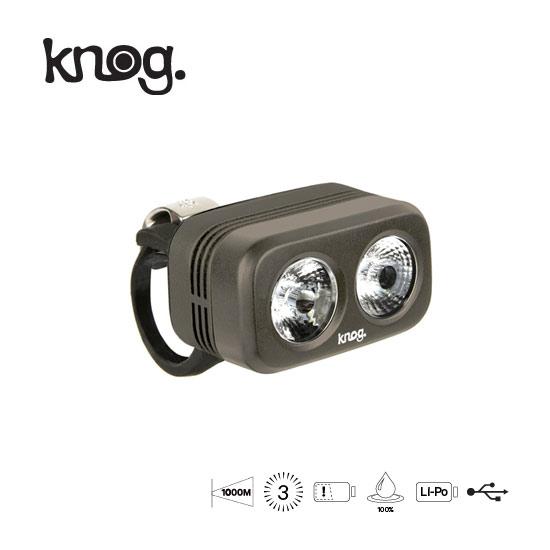 【最大1200円オフクーポン+P最大17倍(8/4 0時まで)】Knog(ノグ)Blinder Road250(ブラインダーロード250)光力抜群250ルーメンLEDライトUSBリチャージャブルライト