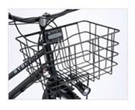 【キャッシュレス還元5%対象】<BR>HYDEE.B/2用フロントバスケットカラー:ブラックBK-HDB.Bブリヂストン