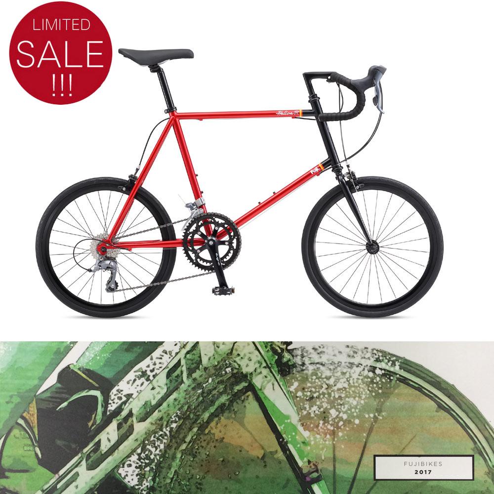2016 模型富士 (Fuji) HELION (Helion R) 自行车,小小的脚踏车