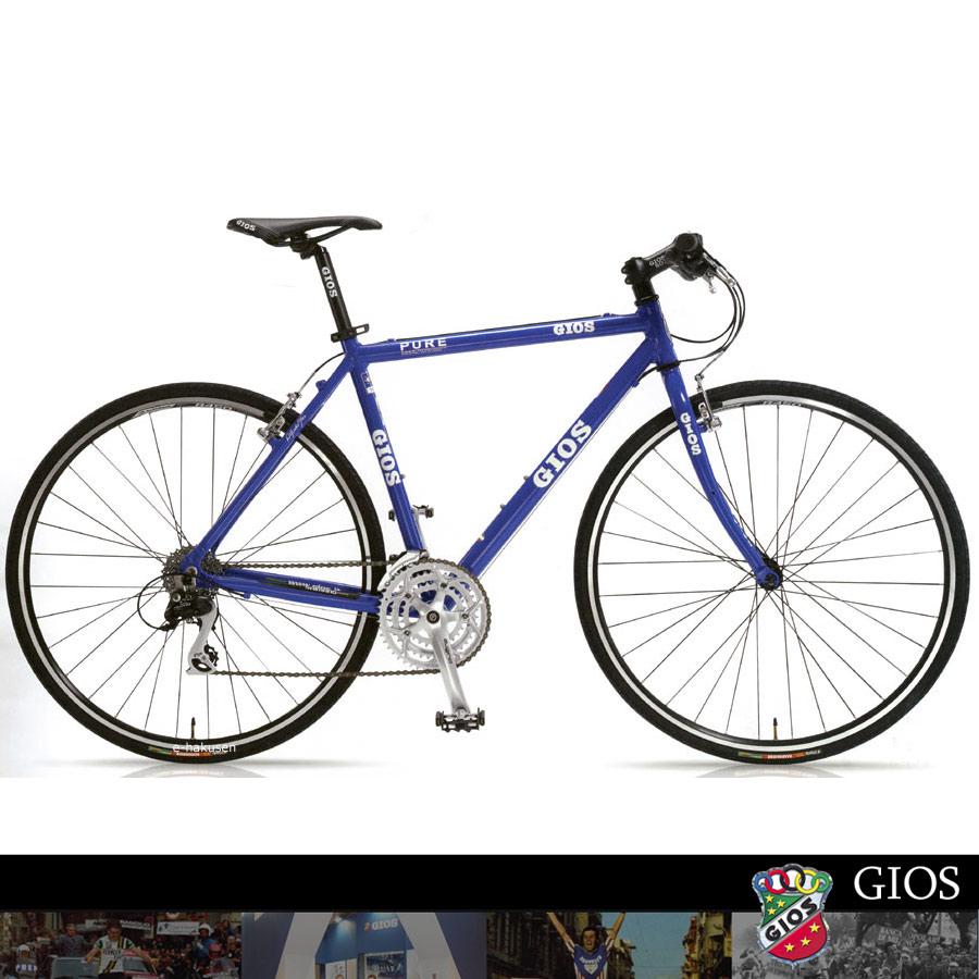 2014 模型 GIOS GEO) 铝布自行车纯平面 (纯平)