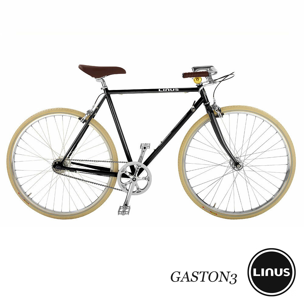 LINUS BIKES (ライナスバイクス) GASTON3 (Gaston 3) アーバンコミューター-decorated three-speed bikes