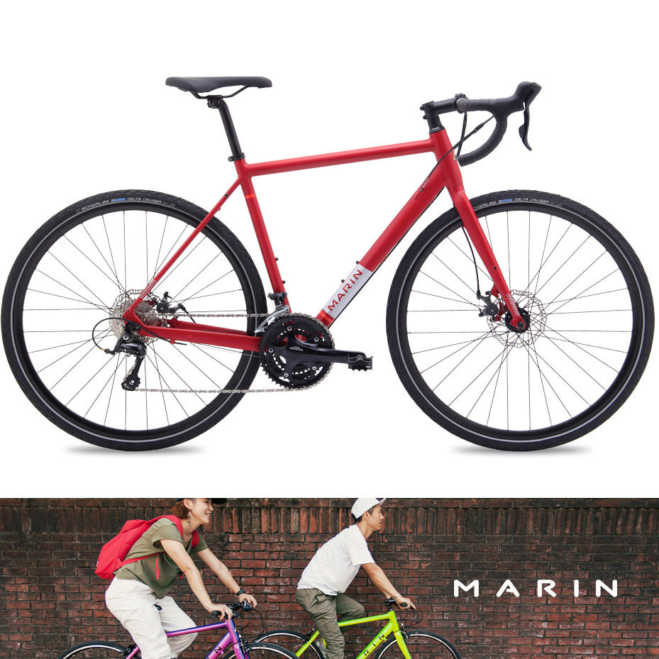 2015 模型马林 (Marin) 伦巴 (伦巴第) 砾石公路自行车越野赛自行车