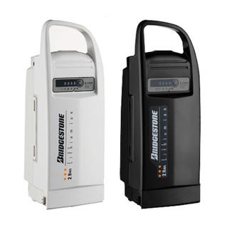 BRIDGESTONE (Bridgestone) 8.1 Ah lithium-ion battery P5320/5321 (old item number P4107/4108) motorized bicycle spare replacement battery.