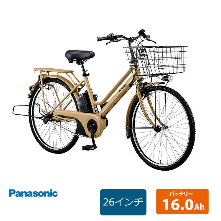 【1都3県送料2700円より(注文後修正)】【2020モデル】TIMO S(ティモS) 26インチ(BE-ELST635)PANASONIC(パナソニック)電動アシスト自転車【送料プランA】