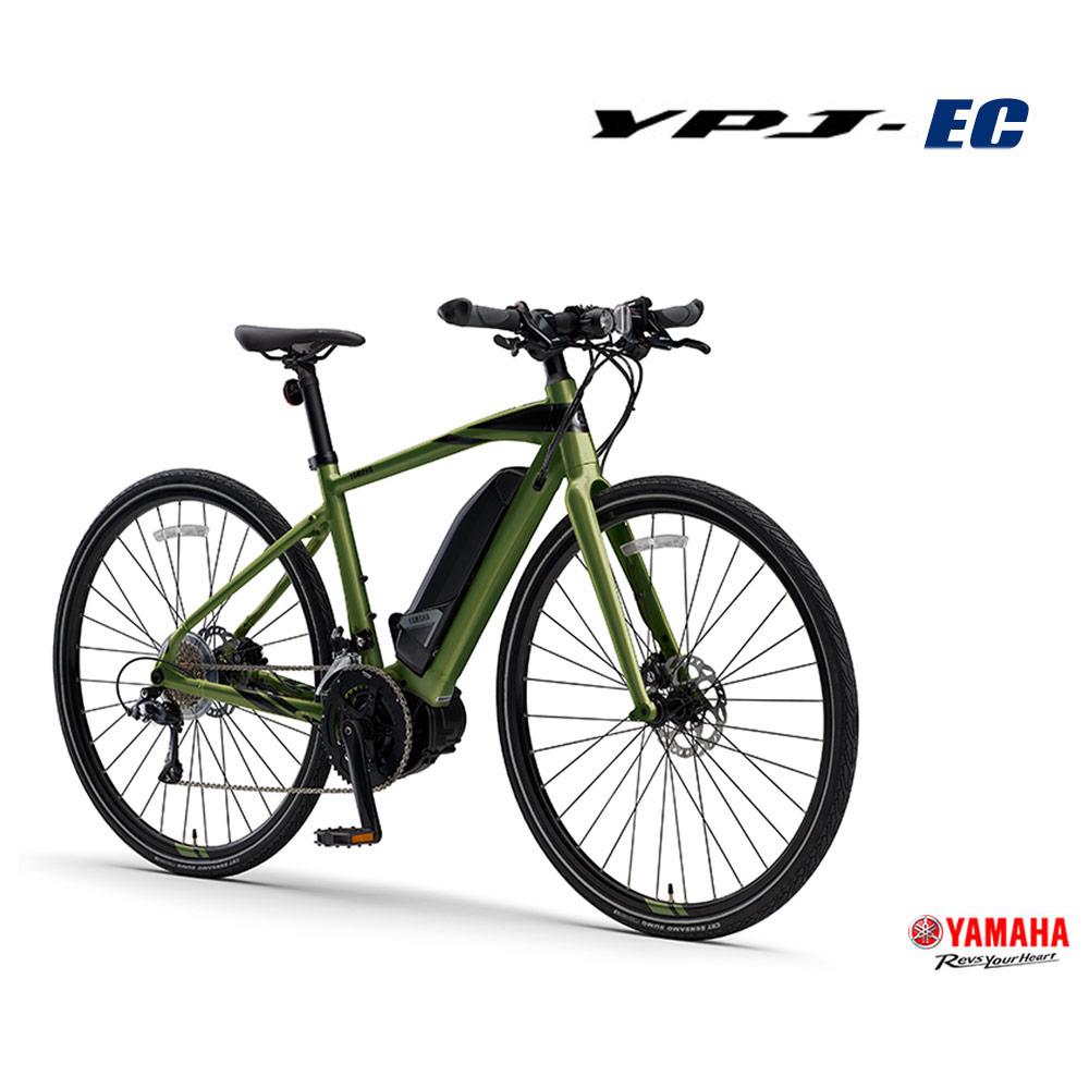 【1都3県送料2700円より(注文後修正)】【2020モデル/ロードバイクを楽しみやすく/フラットバーロード】[YPJ-EC(ワイピージェイイーシー)]ヤマハ電動アシストクロスバイク・E-bike(イーバイク)【送料プランC】 【完全組立】