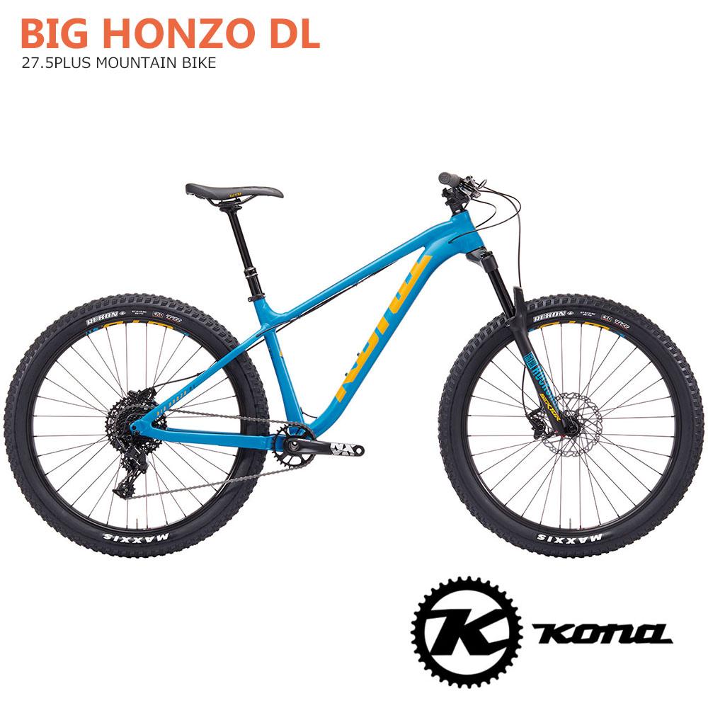 2019モデルKONA(コナ)BIG HONZO DL(ビッグホンゾDL)27.5プラスMTB【送料プランC】 【完全組立】