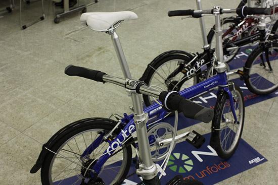 大行大行) 路线 (路线) 2015年模型 / 折叠和折叠自行车期间接受的保留