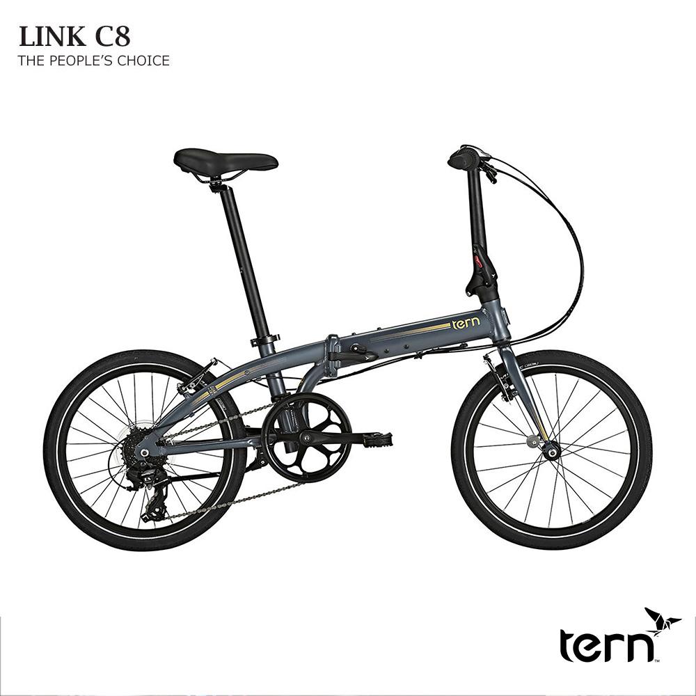 TERN(ターン)LINK C8 MODERN(リンクC8モダン)2019モデル折り畳み・フォールディングバイク【送料プランC】 【完全組立】【店頭受取対応商品】