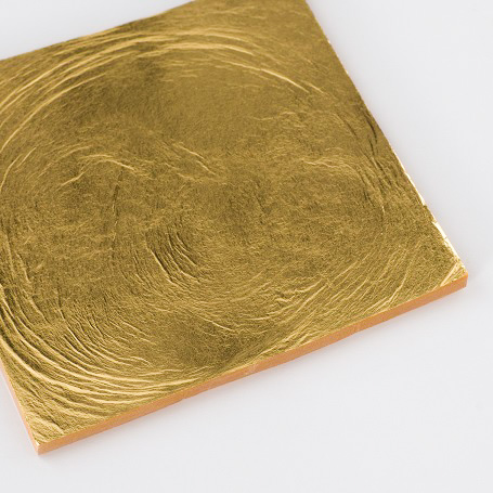【純金箔断切24K 100枚入】金箔 材料 DIY 工芸用 箔座 HAKUZA