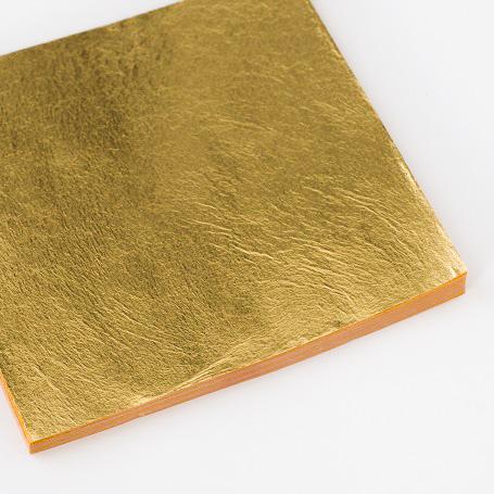 【金箔断切一号色 100枚入】金箔 材料 DIY 工芸用 箔座 HAKUZA
