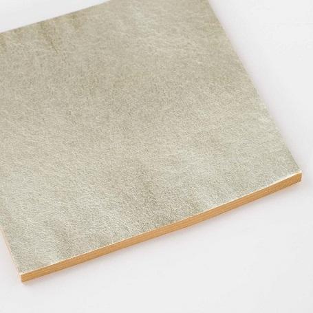 【色箔銀彩 乳白色(にゅうはくしょく)3寸6分(100枚入)】新光箔 HAKUZA 箔座 工芸用 材料 DIY