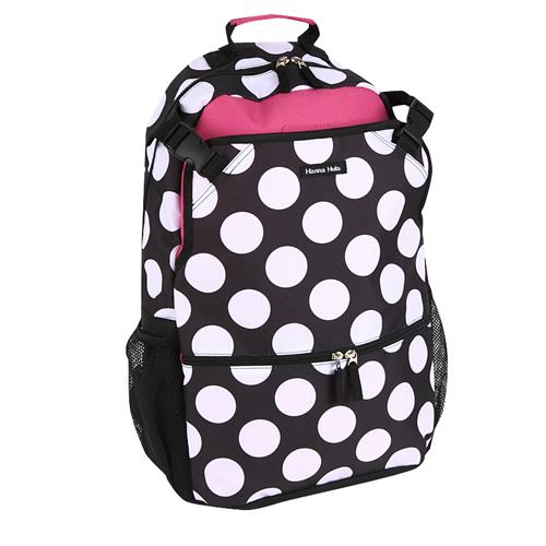 Hanna backpack   Black dot 10P01Nov14