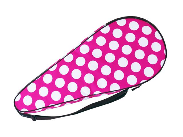訳あり商品 大切なラケットを持ち運びするのに便利なハードタイプのラケットケース テニスラケットケース ディスカウント ハードケース ハンナフラ ネコポス不可 フューシャドット
