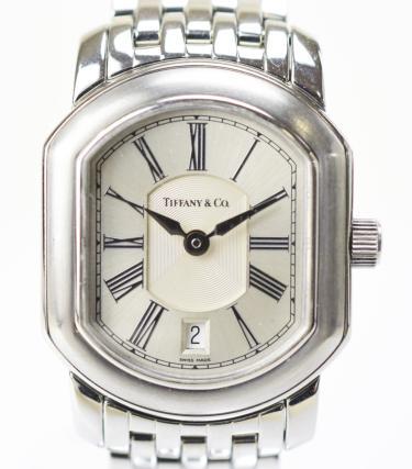 【中古】Tiffany & Co. ティファニー マーククーペ クォーツ レディース腕時計 SS シルバー シルバー クオーツ時計