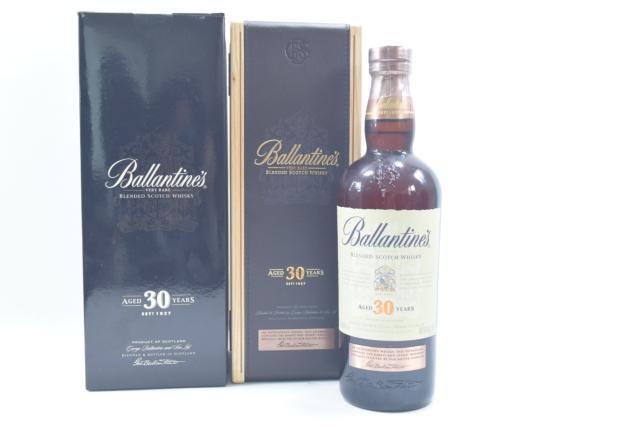 【未開栓】バランタイン BALLANTINE`S 30年 ベリーレア 700ml スコッチ ウイスキー 木箱 外箱付 送料無料 【中古】