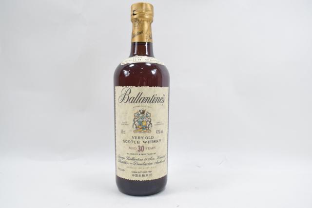 【未開栓】バランタイン BALLANTINE`S 30年 ベリーオールド 750ml 古酒 送料込み 【中古】