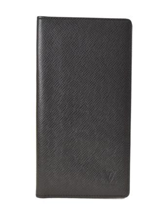 【中古】【美品】LOUIS VUITTON ルイヴィトン ポルトバルールカルトクレディ アルドワーズ タイガ M30392 ブラック系 お札入れ