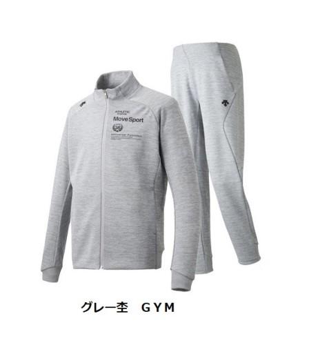 デサント Move Sportsスウェットジャケット&パンツ メンズ春夏 DMMNJF20/DMMNJG20