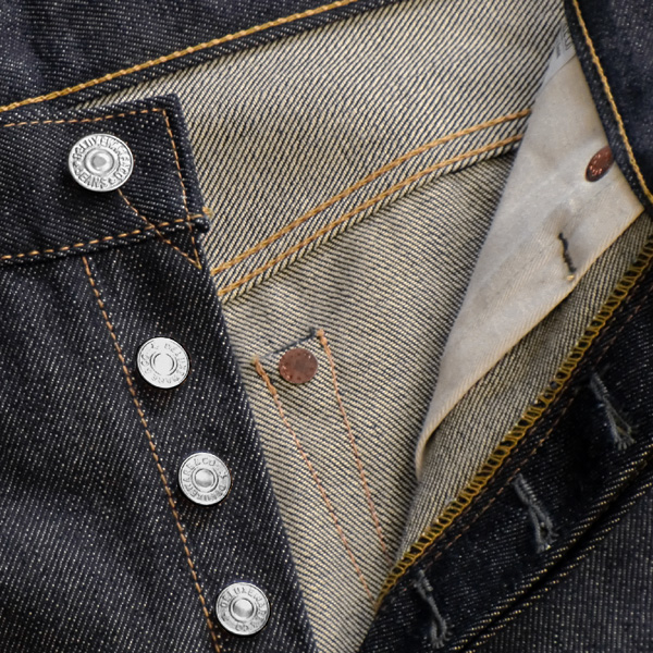 Deluxeware デラックスウエアー) 牛仔长裤 (牛仔裤)