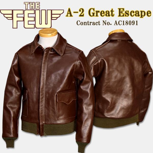 保障できる THE FEW(ザ・フィユー)A-2 フライトジャケット【A-2 No.AC18091】 THE Great Escape Contract No.AC18091 Contract】:HALLO-WIN, 子供服の赤ちゃんや:3954da7f --- nagari.or.id