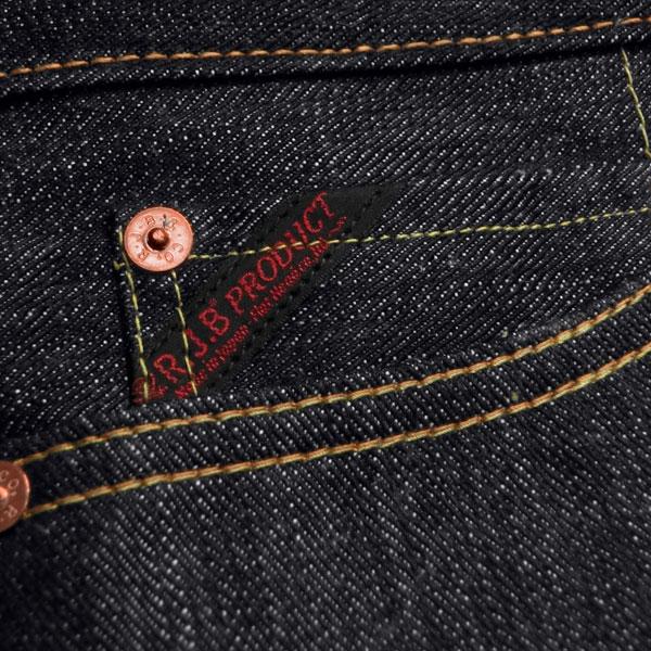 扁头 (平头) 限量版牛仔裤
