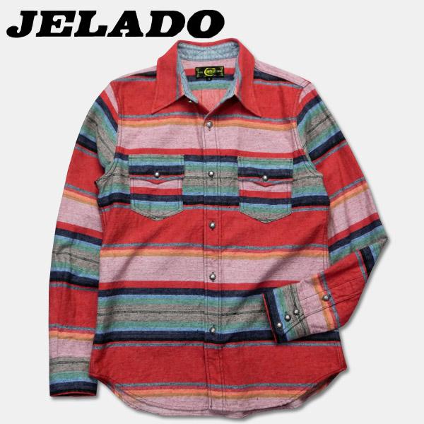 JELADO(ジェラード)オールドウエスタンシャツ【CB13101】