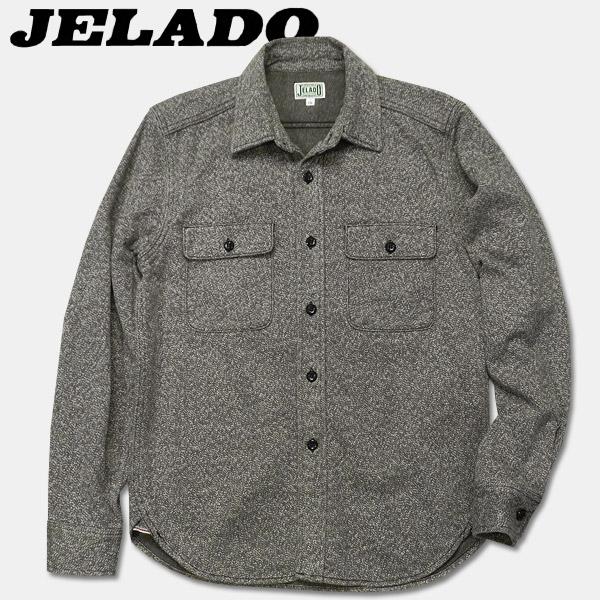 JELADO(ジェラード)長袖チェックネルシャツ(ショート丈)【JP94109】ソルト&ペッパー