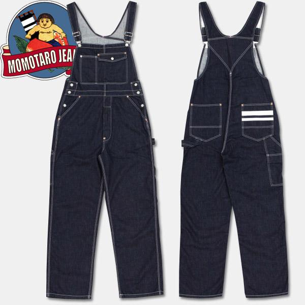 桃太郎牛仔裤GTB粗斜纹布·连裤工作服