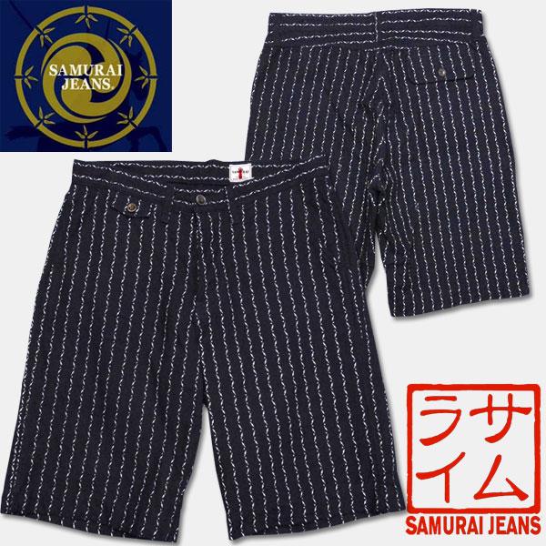 サムライジーンズ★クナイウォバッシュショートパンツ【SJSP14-01】