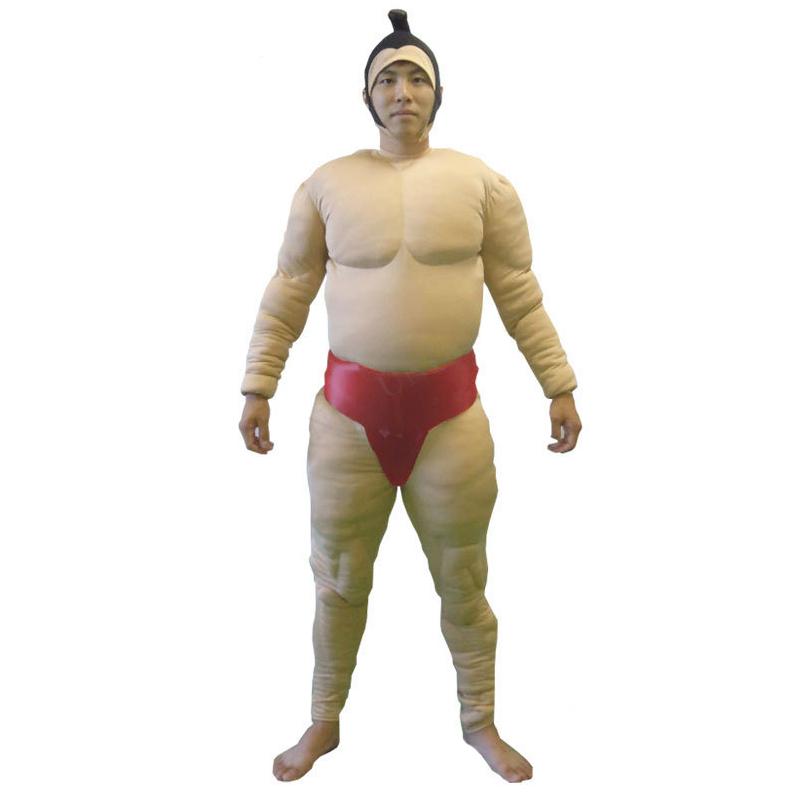 送料無料 相撲スーツ(赤) 相撲 全身タイツ 全身タイツ すもう 相撲 衣装