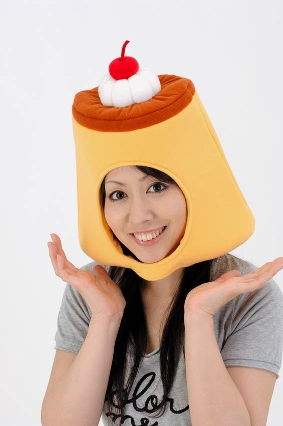 仮装 かぶりもの キャップ 帽子 秀逸 CAP セール特別価格 プリンキャップ SWEETS
