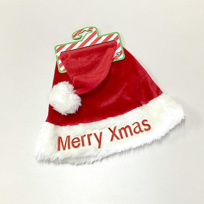 クリスマス Xmas サンタクロース コスチューム メリークリスマス帽子 衣装 レッド 大特価!! 発売モデル