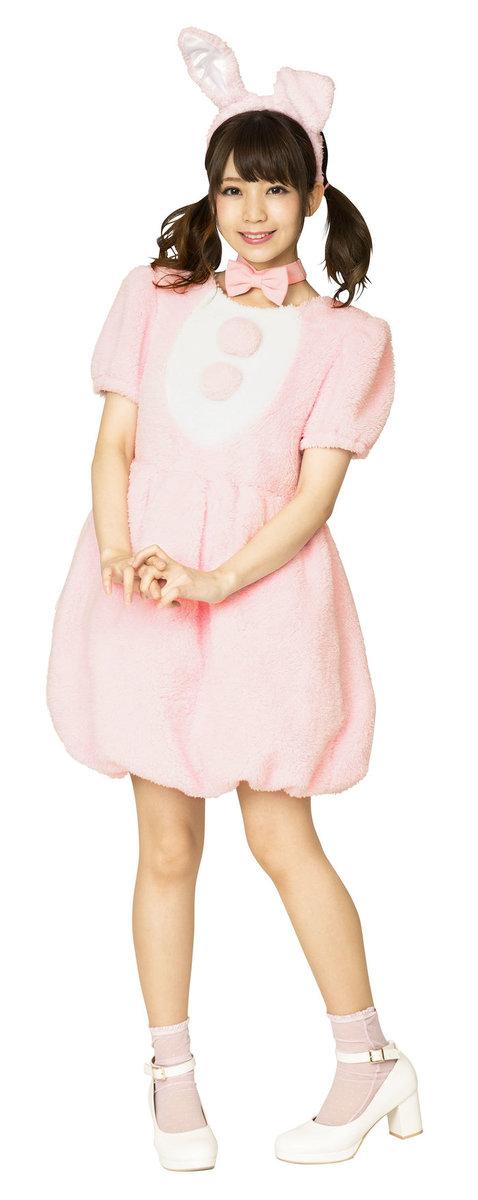 送料無料 ふわもこアニマル ストロベリーラビット レディース どうぶつ コスチューム 仮装 かわいい コスプレ