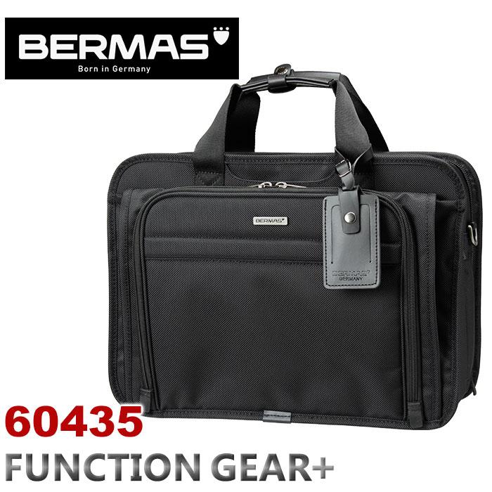 ビジネスバッグ バーマス BERMAS FUNCTION GEAR PLUS ファンクションギアプラス キャリーオン機能 2層式 PC対応 ショルダーバッグ 拡張 エクスパンダブル ビジネス 通勤 出張60435