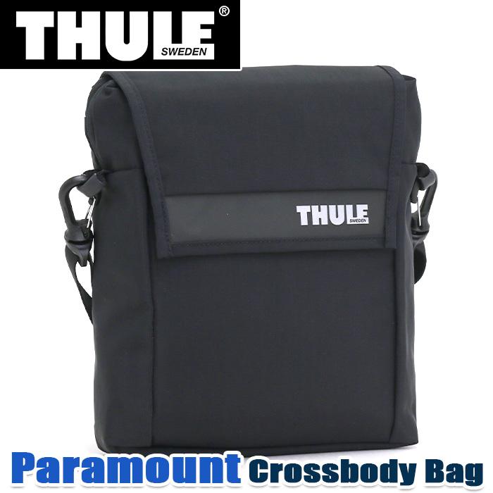 THULE スーリー Paramount Crossbody Bag パラマウント クロスボディバッグ ショルダーバッグ 2020 春夏 新作 正規品 通勤 ショルダー 小さめ 耐水 人気 おしゃれ ユニセックス アーバン 都会派 10.5インチ タブレット ブラック A5 5L PARASB-2110